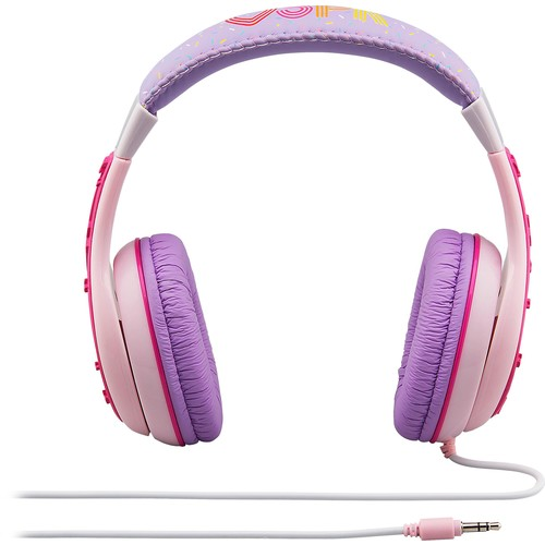 KIDdesigns - Shopkins Over-the-Ear Headphones - Purple/pink