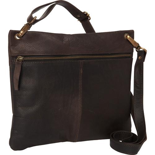 Sharo Leather Bags Women's Dark Brown Cross Body Bag