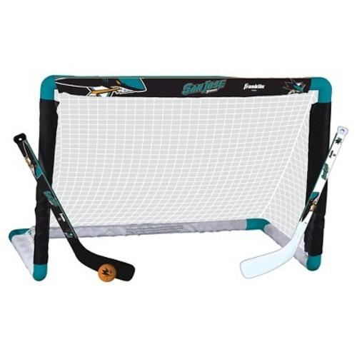 NHL Franklin Sports San Jose Sharks Mini Hockey Set