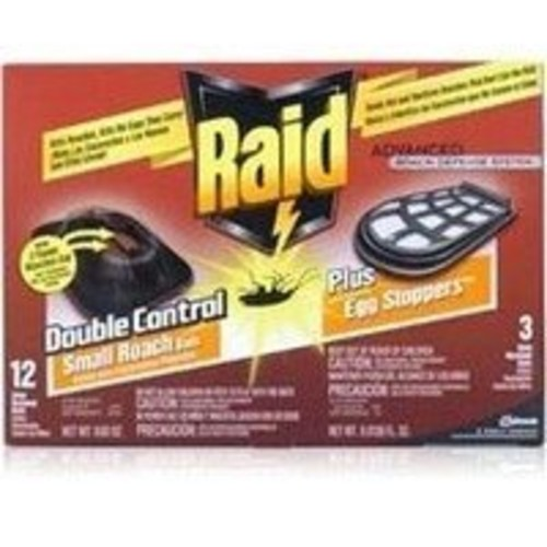 Raid Double Control Small Roach Baits Plus Egg Stoppers 12-count Boxes [1]