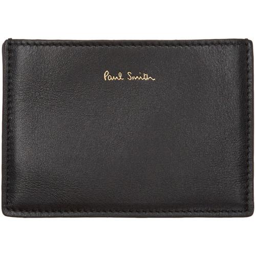 Black Concertina Card Holder
