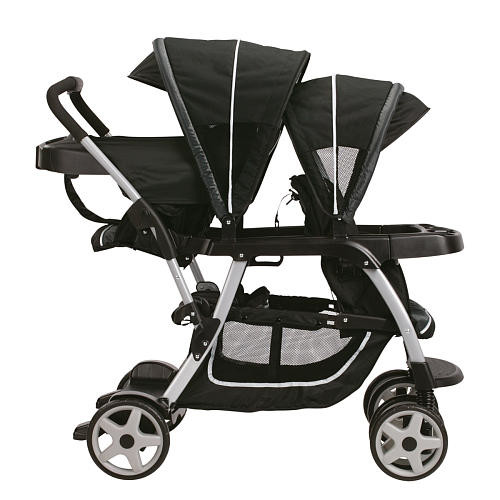 Graco Ready2Grow Click Connect LX Duo Stroller - Gotham