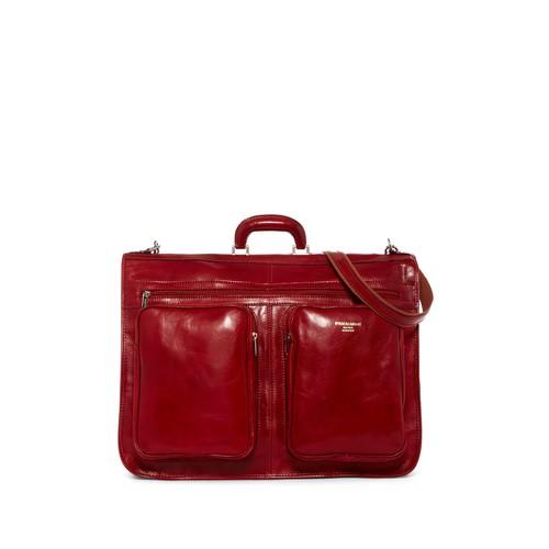 Oliver Italian Leather Garment Bag