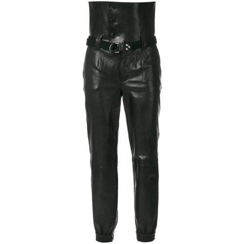 SAINT LAURENT Ultra High Waist Trousers