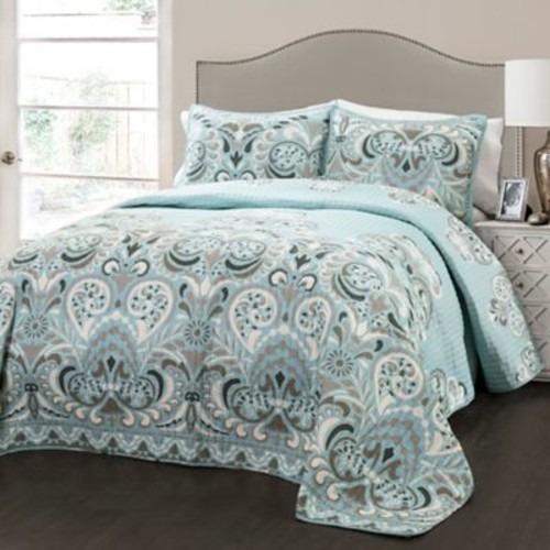 Bungalow Rose Bently 3 Piece Quilt Set; King