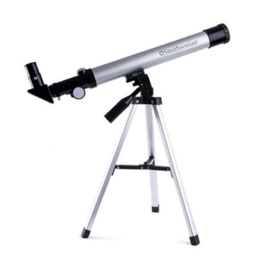 Smithsonian 40mm Refractor Telescope with Tabletop Tripod