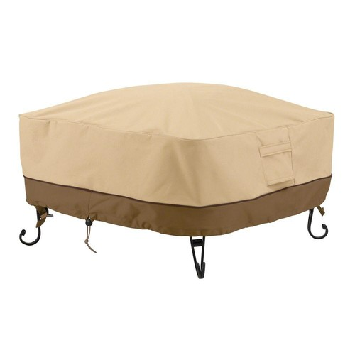 Classic Accessories Veranda 24 in. Square Full Coverage Fire Pit Cover