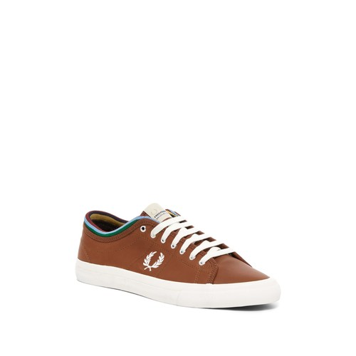 Kendrick Tipped Cuff Waxed Leather Sneaker