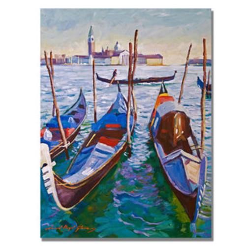Eduard Manet 'Grand Canal in Venice' Canvas Art