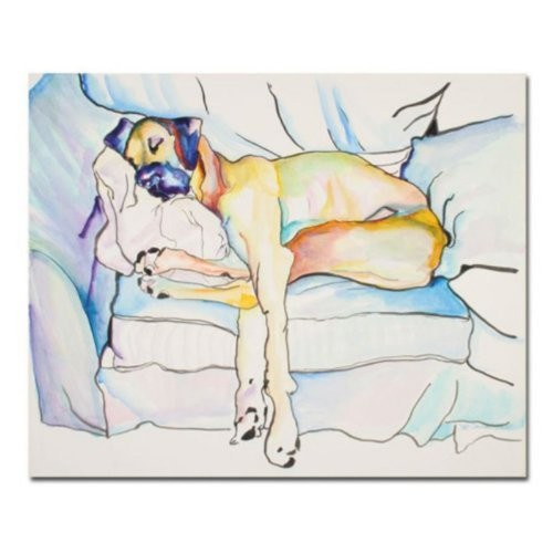 Sleeping Beauty by Pat Saunders-White, 18x24-Inch Canvas Wall Art [18 by 24-Inch]