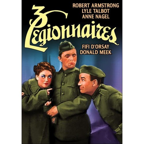 The Three Legionnaires [DVD] [1937]