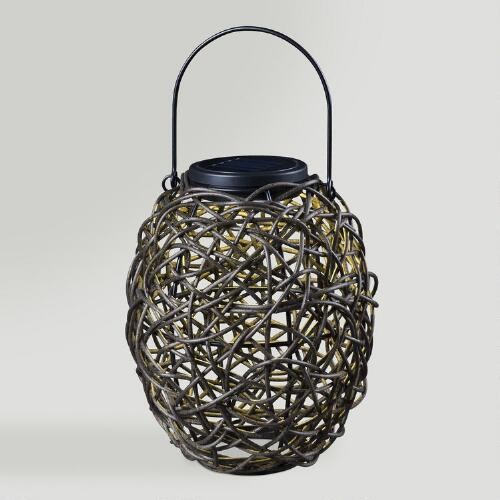 Twist Solar Outdoor Lantern