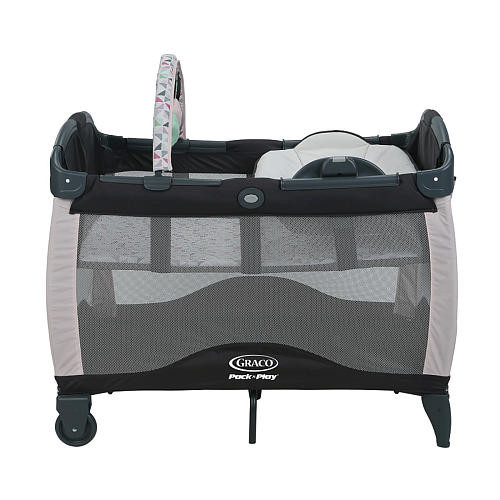 Graco Pack 'n Play Playard with Reversible Newborn Napper Station & Changing Table LX - Tile