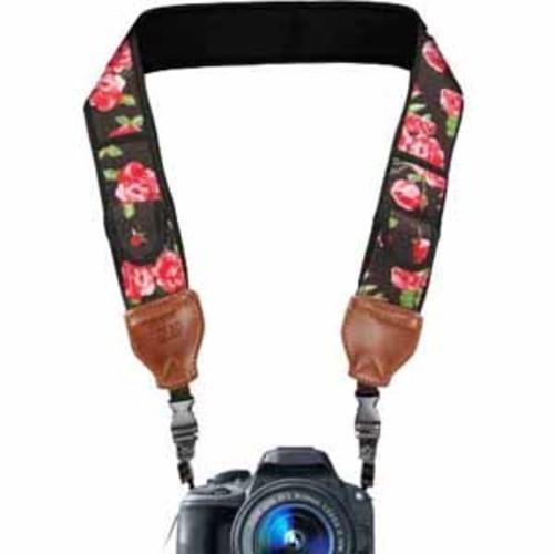 USA Gear TrueSHOT Camera Strap - Floral
