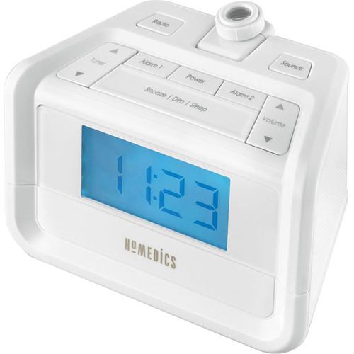 HoMedics SoundSpa Dig FM Clock Radio