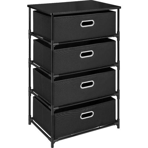 Dorel 4 Bin Storage End Table