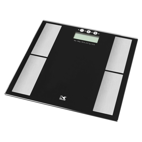 KALORIK Black Digital Bathroom Scale