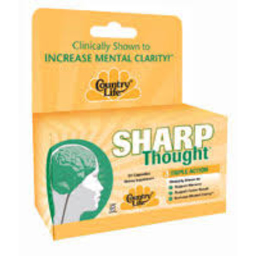 Country Life Sharp Thought 30 Capsules