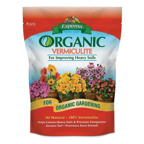 Espoma ESPVM8 Organic Vermiculite - 8 quart