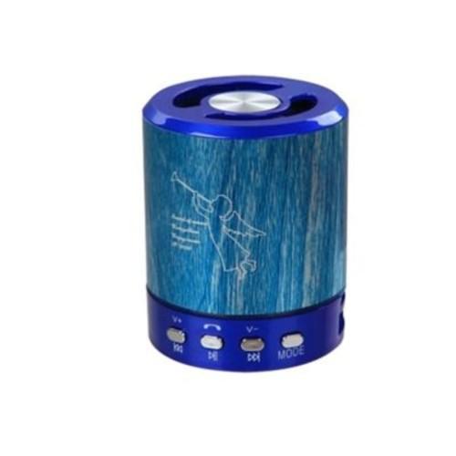 Insten Blue Portable Mini Speaker for Desktop Laptop PC Cumpter Cell Phone Smartphone MP3 MP4 Music Player