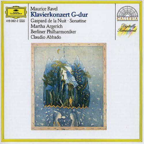 Piano Concerto In G Major Gasparde De La Nuit - CD