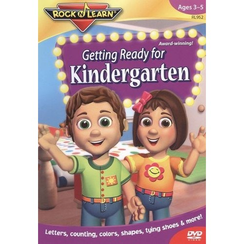 Rock N Learn:getting Ready For Kinder