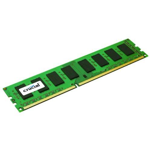 Crucial 4gb, 240-pin Dimm, Ddr3 Pc3-12800 Memory Module - 4 Gb [1 X 4 Gb] - Ddr3 Sdram - 1600 Mhz Ddr3-1600/pc3-12800 - 1.5 V - Non-ecc - Unbuffered - 240-pin - Dimm (138184)