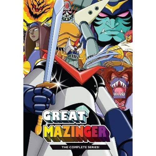 Great Mazinger:Complete Series (DVD)