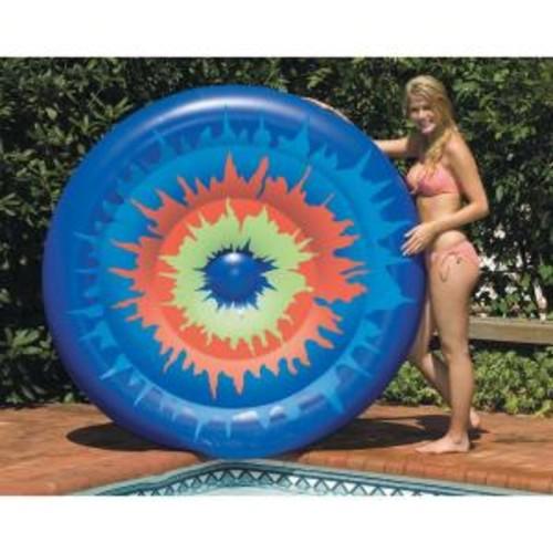 Swimline Tie Dye Island Inflatable Pool