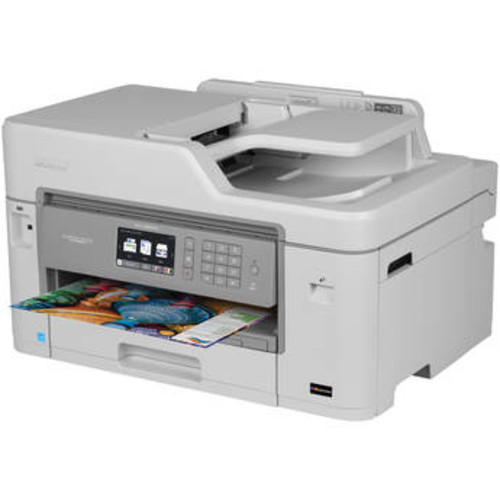 MFC-J5830DW XL Business Smart Plus All-in-One Inkjet Printer with Four Sets of INKvestment Inks