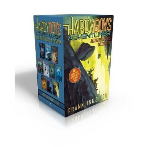 Hardy Boys Adventures Ultimate Thrills Collection: Secret of the Red Arrow; Mystery of the Phantom Heist; The Vanishing Game; Into Thin Air; Peril at Granite Peak; The Battle of Bayport; Shadows at Predator Reef; Deception on the Set; The Curse of the Anc