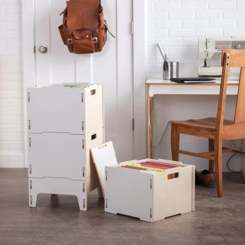 Sprout Filing Cabinets & File Storage Modern Wooden File Cabinet