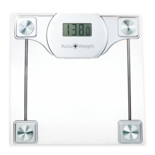 Accuweight Digital Glass Bathroom Scale