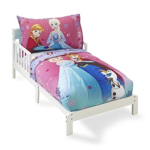 Disney Frozen Girl's 4-Piece Bedding Set
