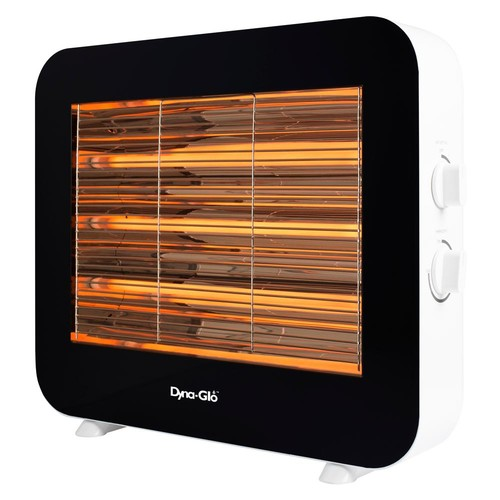 Dyna-Glo 1500-Watt Infrared Electric Quartz Radiant Heater in White