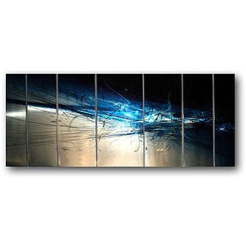Benjamin Parker 'The States' 30 x 40-inch Mixed Media Wall Art