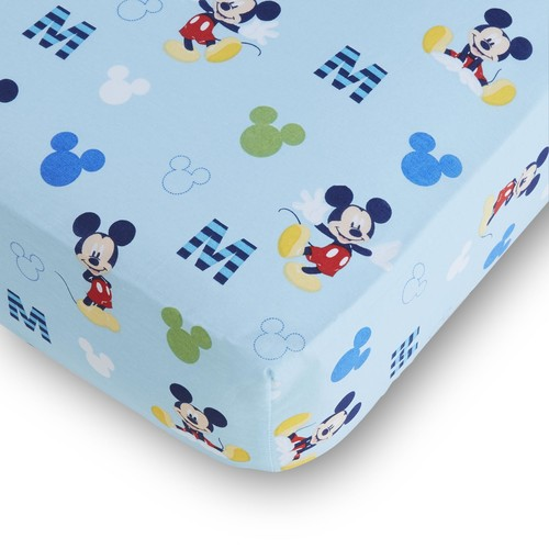 Disney Mickey Mouse Fitted Crib Sheet