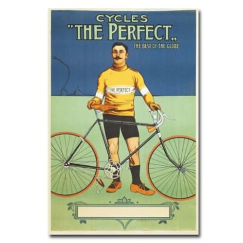 Trademark Fine Art The Perfect Bicycle 1895' Canvas Art