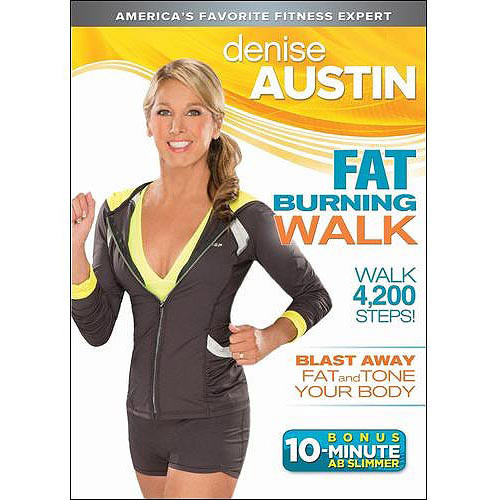 Denise Austin: Fat Burning Walk - Widescreen Dolby - DVD 2013