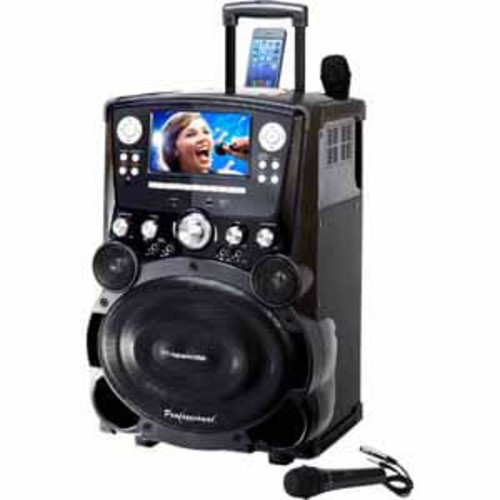 Karaoke USA Professional DVD/CDG/MP3G Player with 7 Color TFT Display