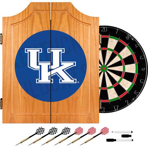 Trademark Global University of Kentucky Wordmark 20.5 in. Wood Dart Cabinet Set
