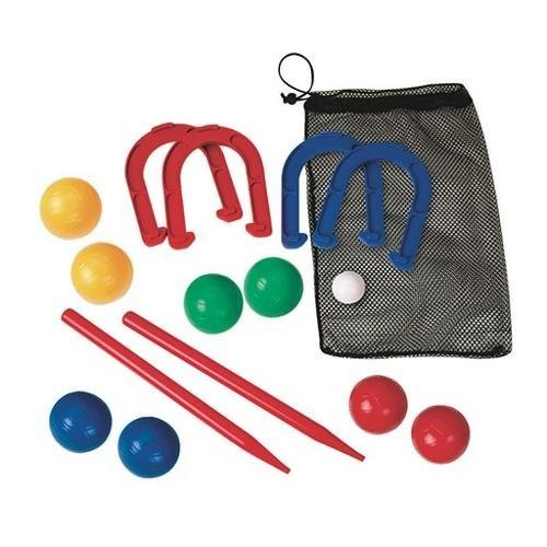 Combo Horseshoes and Bocce