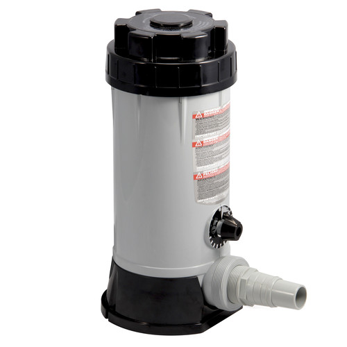 Blue Wave In-line Automatic 9 lb. Chlorine Feeder for Above Ground Pools