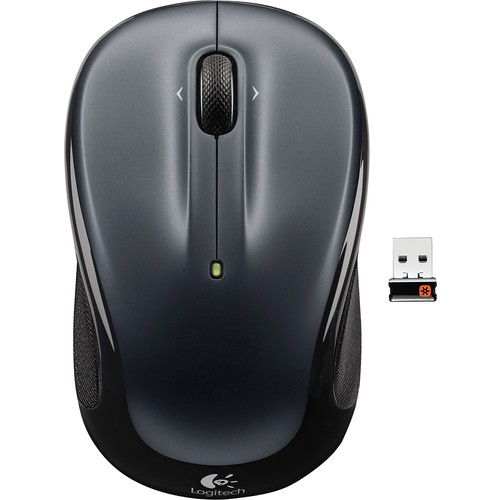 Logitech - M325 Wireless Optical Mouse - Silver