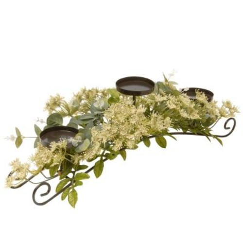 National Tree Company 25 in. Dill Blossom Candle Holder