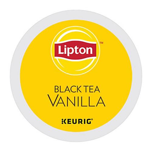 Lipton Black Tea Vanilla K-Cup, Pack of 24