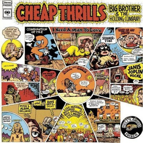 Janis joplin - Cheap thrills (CD)