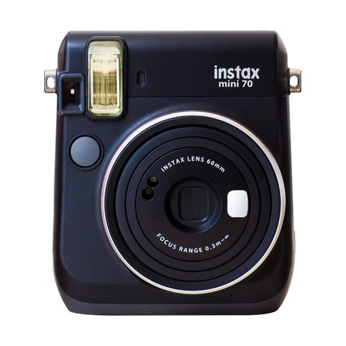 Fujifilm - Instax Mini 70 Instant Film Camera - Midnight Black