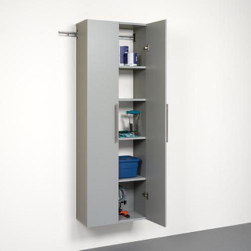 Stone Grey 24-inch Large Storage Cabinet