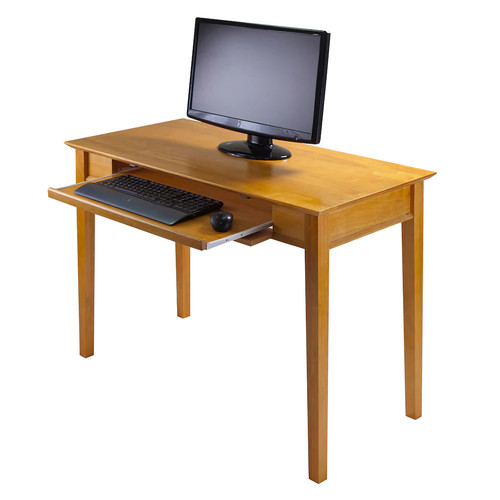 Emmett Computer Desk by Winsome [Accessory : WIth Storage Bench]